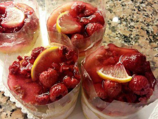 málnás citromkrém
