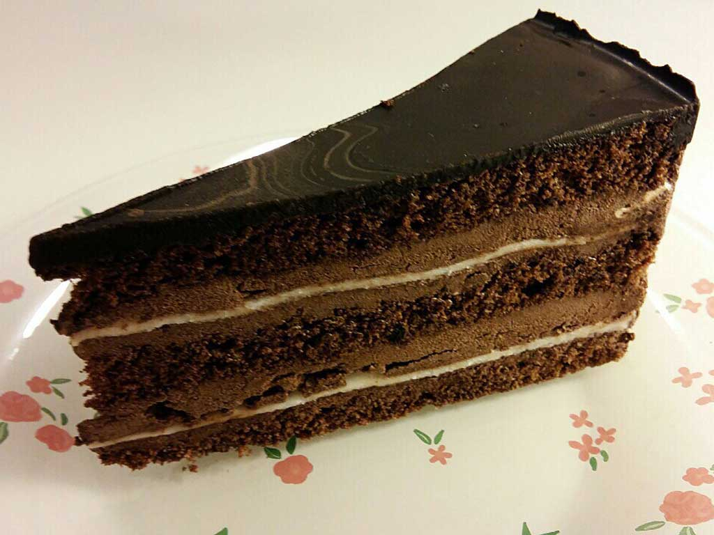 marcipános csoki torta