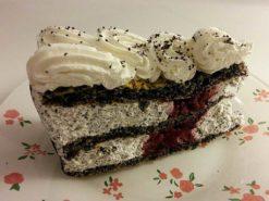 meggyes mák torta