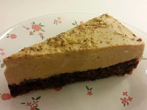 gluténmentes paleo diós karamell torta