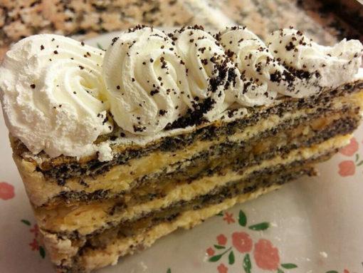 szabolcsi almás mák torta