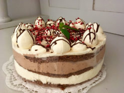tejmentes feketeerdő torta