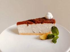 vegán fahéjas vaníliás szilvás szelet